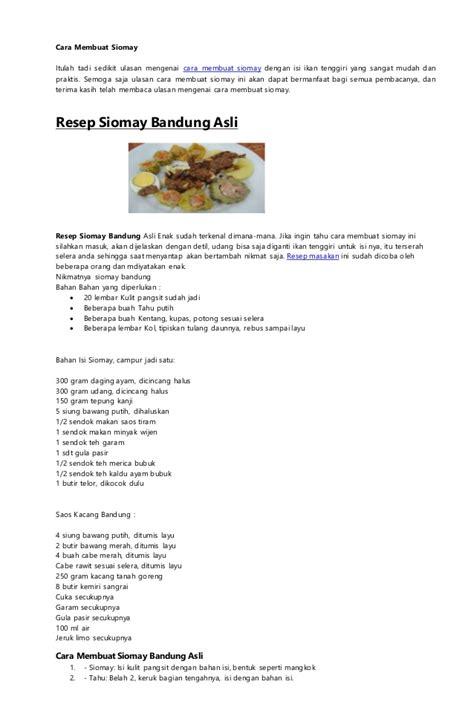 resep kue apem bliblinews com resep siomay bandung asli