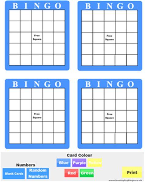 make your own bingo cards printable free printable bingo cards thriftyfun