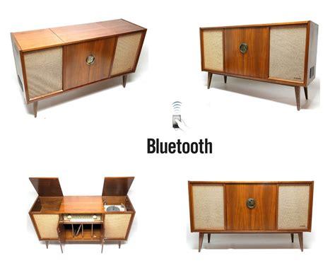 blaupunkt stereo console stereo console 60 s mid century philco record player the