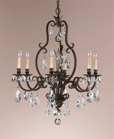 Craftsman Home Decor by Murray Feiss F2228 6ats Crystal Salon Maison Six Light