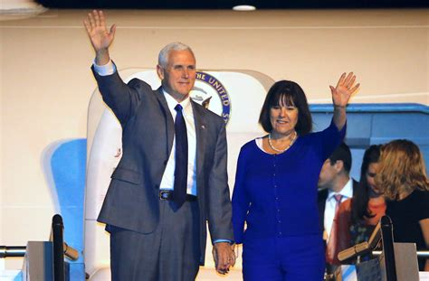 pence and wife to get tour of new digs second lady karen pence gives exclusive tour of her home