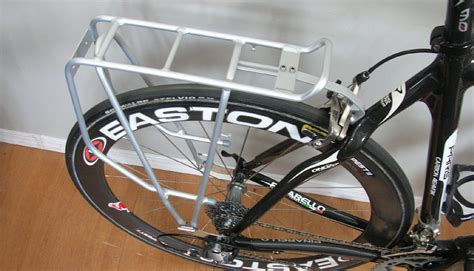 Road Bike With Rack Mounts by All About Rear Pannier Racks For Bicycle Touring