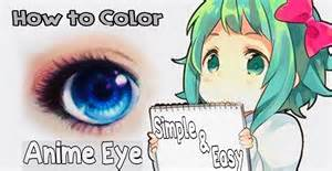 how to color anime anime eye coloring tutorial using colored pencils