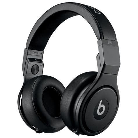 Headset Beats Audio beats by dr dre pro ear sound isolating headphones 900 00175 01 black ear