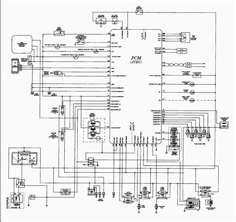 2006 jeep wrangler pcm wiring diagram 1997 grand