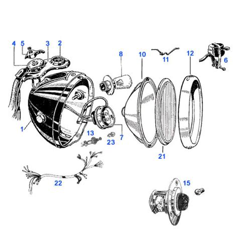 lucas motorcycle light switch wiring diagram efcaviation
