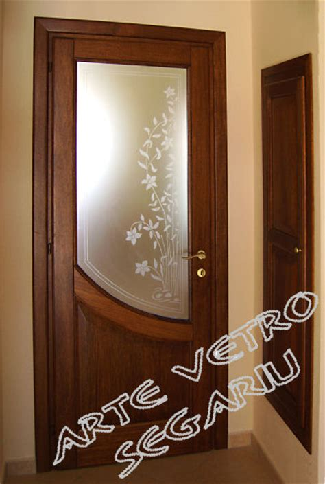 porta interna con vetro beautiful porta vetro satinato contemporary