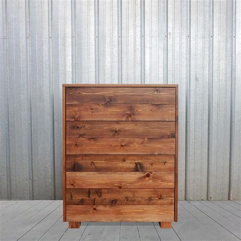 cedar barn wood style dresser handmade in usa