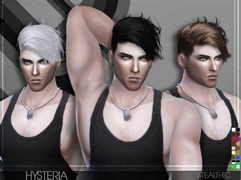 stealthic vapor female hair the sims resource the sims 4 stealthic hysteria male hair download 18