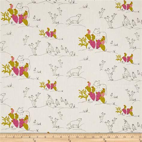 quail pattern fabric art gallery sage coyote quail jojoba discount designer