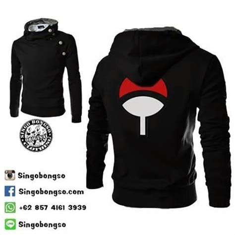 Jaket Harakiri Korea Sharingan Uchiha Sasuke Anime jaket uchiha mode price idr 249k usd 30 material cotton fleece application