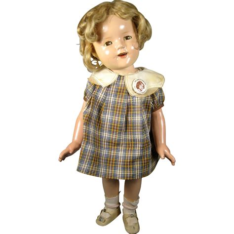 shirley temple composition doll for sale production run ideal shirley temple composition