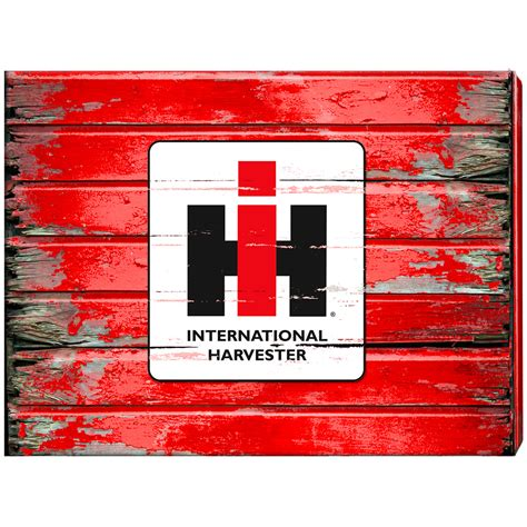 case ih home decor international harvester home decor ih barn wood 24x18