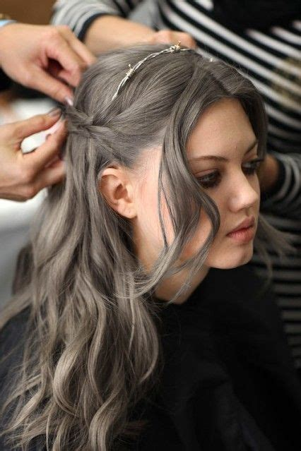 gray hairstyles in young women gallery for young black women with gray hair