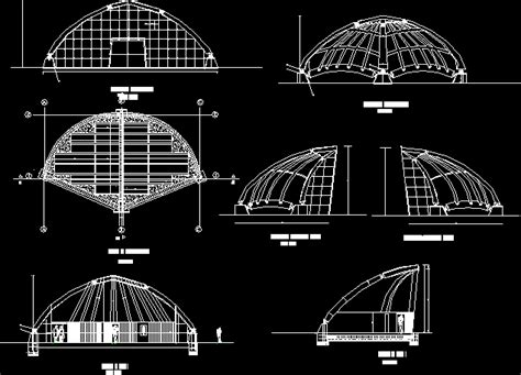 acoustic shell  autocad cad   kb