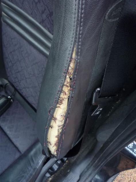 reparer siege cuir comment reparer un siege de voiture
