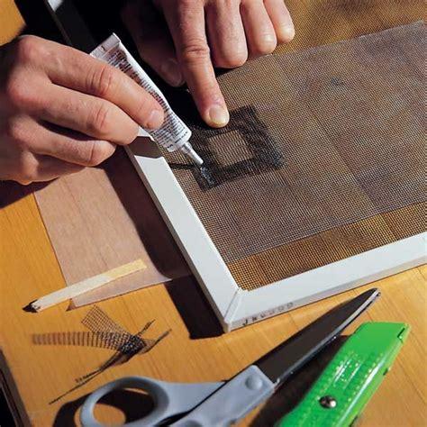 how to fix torn window shades repair a torn fiberglass screen doors windows