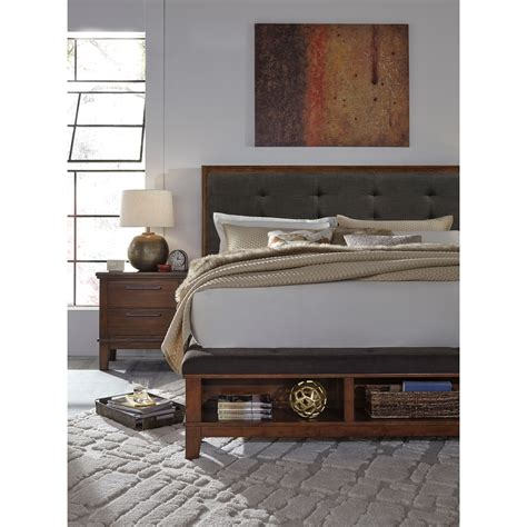 Ralene Bedroom Set by Signature Design Ralene Upholstered Bed With