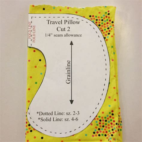 Travel Pillow Sewing Pattern free child travel pillow sewing pattern christen noelle
