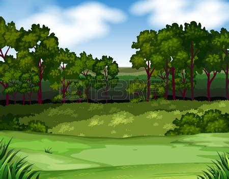 Forest Scene Clipart (42 )