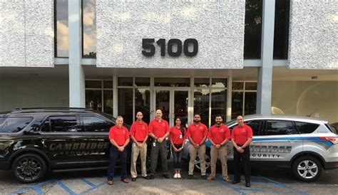 Fridays Corporate Office by Cambridge Security Recognizes Appreciation Month