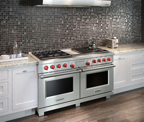 60 inch gas cooktop wolf df606cg 60 inch pro style dual fuel range with 6 dual