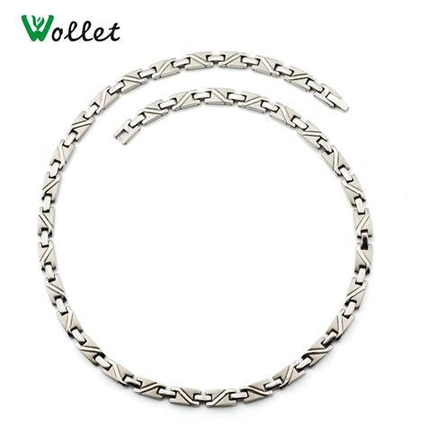 titanium germanium necklace reviews shopping