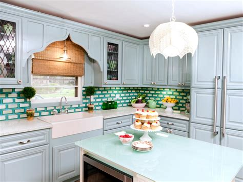 painted kitchen cabinet ideas hgtv kitchen cabinet paint colors pictures ideas from hgtv