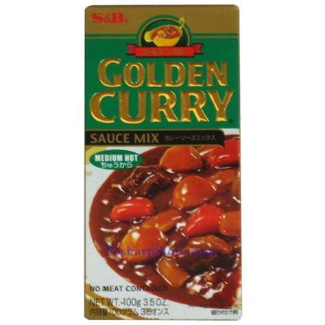Sale S B Golden Curry Sauce Mix Saus Kari 100g s b golden curry sauce mix medium spicy 3 5 oz