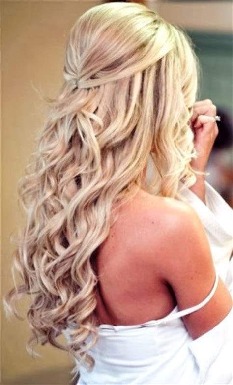 creative hairstyles for long straight hair best 25 long curly wedding hair ideas on pinterest long
