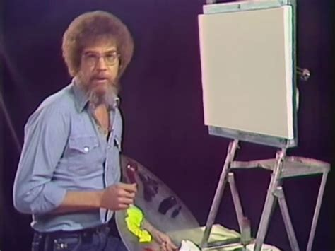 bob ross painting episode bob ross episode of of painting uploaded to