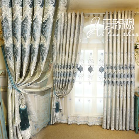 inspired drapes european style curtains for living sitting room curtain