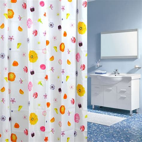 shower curtains for kids bathroom kids or girls floral shower curtain