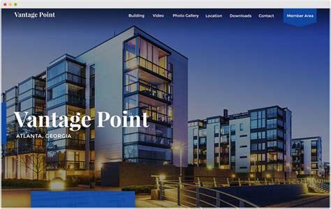 commercial real estate templates commercial real estate website design sharplaunch