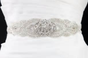 wedding sash beaded wedding dress sash all wedding accessories