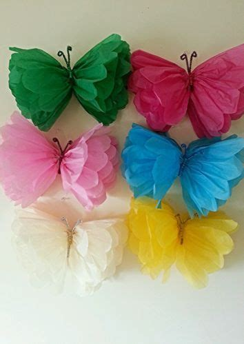 How To Make Tissue Paper Butterflies - tissue paper butterflies animals vbs