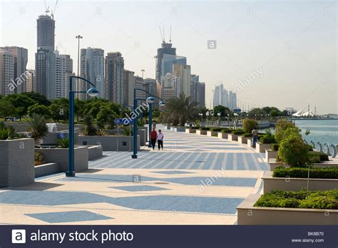 the corniche the abu dhabi corniche stock photo 29073268 alamy