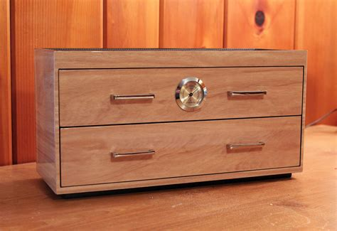 humidor review wolf designs  drawer humidor ww review