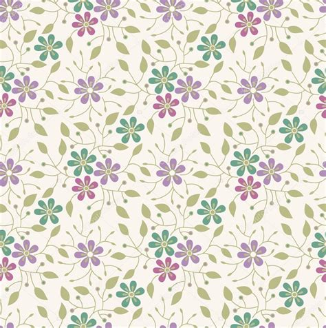 pattern flowers illustrator seamless flower background pattern stock vector 20249885