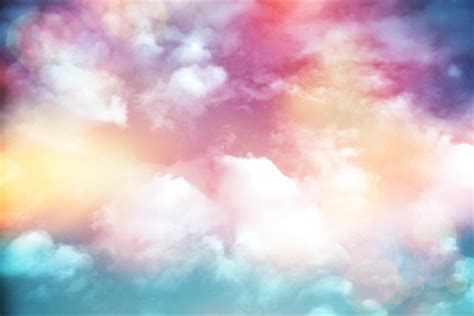 colorful clouds wallpaper colorful clouds with lens flare photograph by serena king