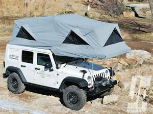 Jeep With Tent Jeep Cer Trailer Tent Car Interior Design
