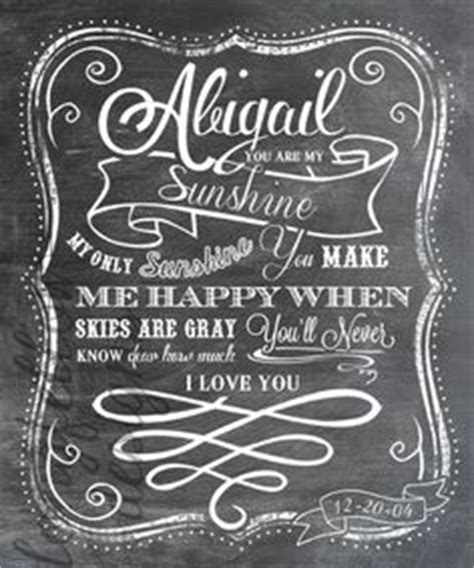you are my sunshine chalkboard look print by longfellowdesigns moss graffiti ideas on pinterest family name signs