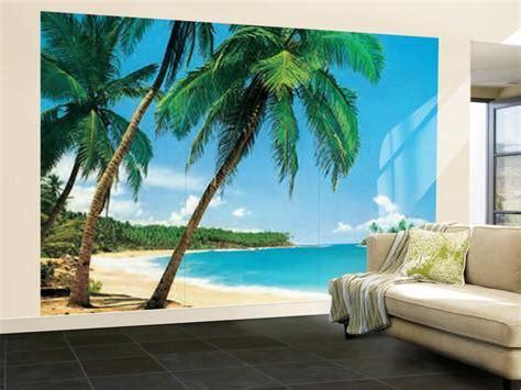 wall mural prints ile tropicale tropical isle wall mural print poster wallpaper mural allposters co uk
