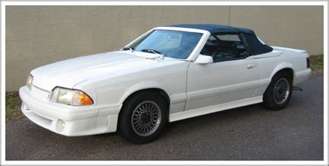 1987 ford mustang parts 1987 88 ford mustang mcclaren asc convertible tops and