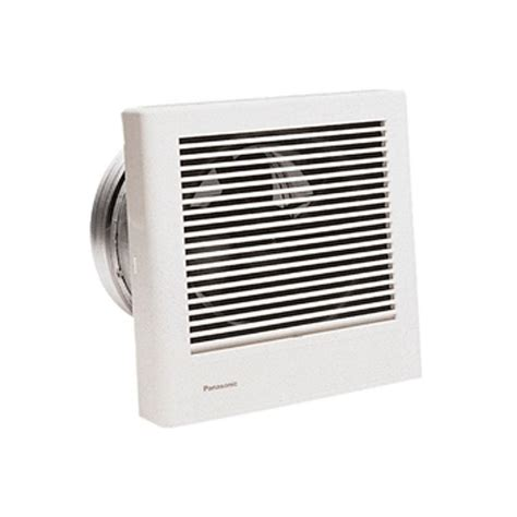 bathroom exhaust fan on wall panasonic whisperwall 70 cfm wall exhaust bath fan energy