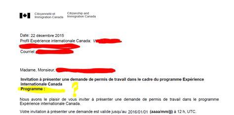 Lettre Demande De Visa Conjoint De Français canada tutoriel eic 2016 pvt jp et stage coop page 45