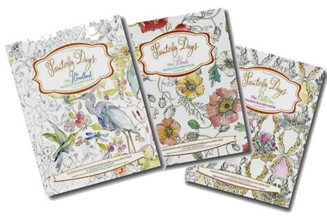 Watercolor Coloring Books Empress Of Dirt