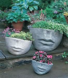 sculpture planters are still trendy and