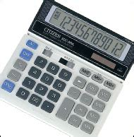 Calculator Citizen Sdc 868 L supplier stationery alat tulis kantor calculator