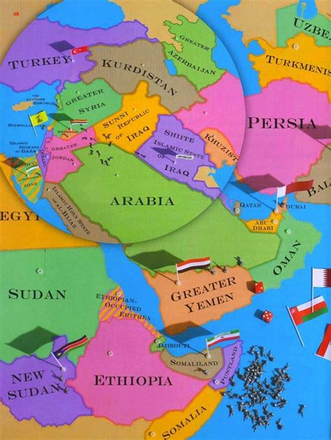 middle east map after the new map of the middle east the atlantic